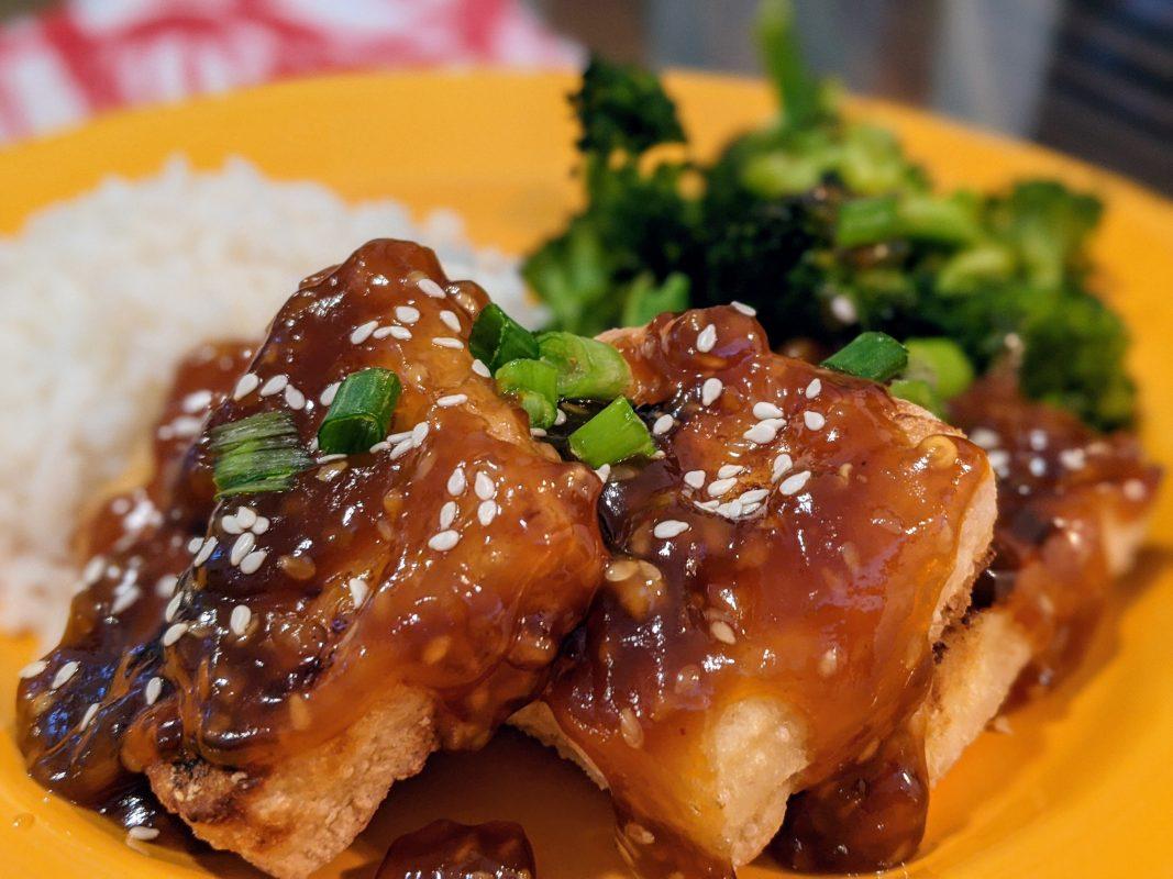Vegan General Tso's Sauce
