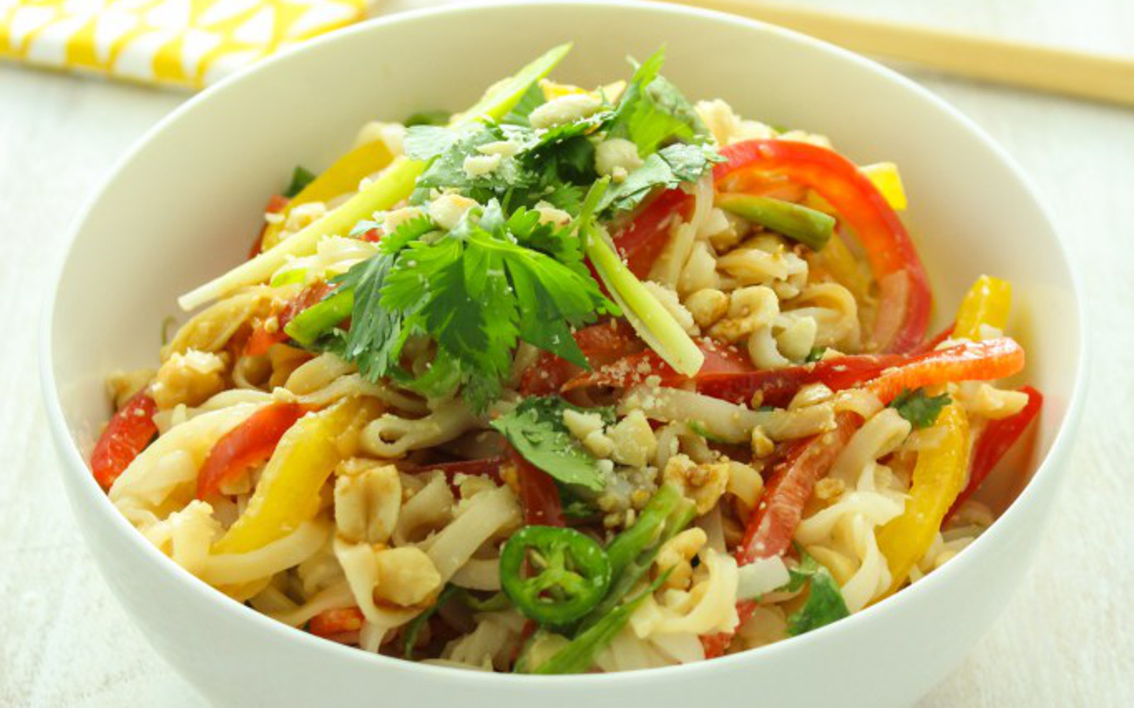 15-Minute Hot and Sour Thai Noodles