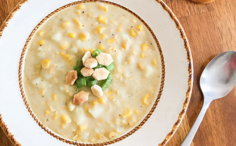 The Best Corn and Potato Chowder