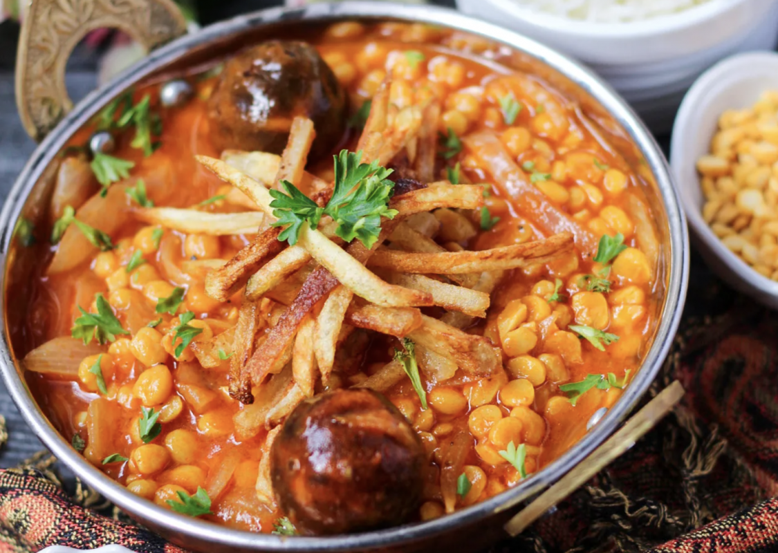Vegan Iranian Khoresh Gheymeh