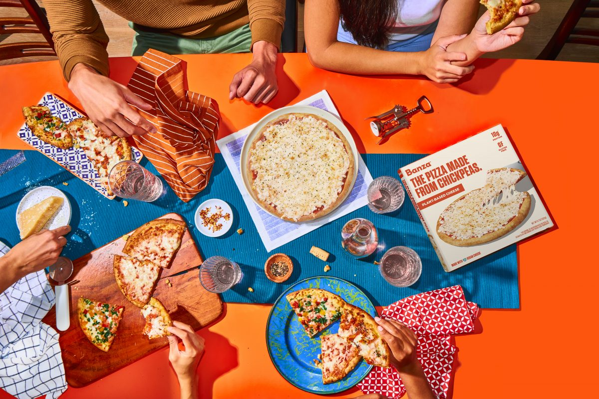 Banza Teams Up With Beyond Meat and Follow Your Heart to Release New Veg Pizzas