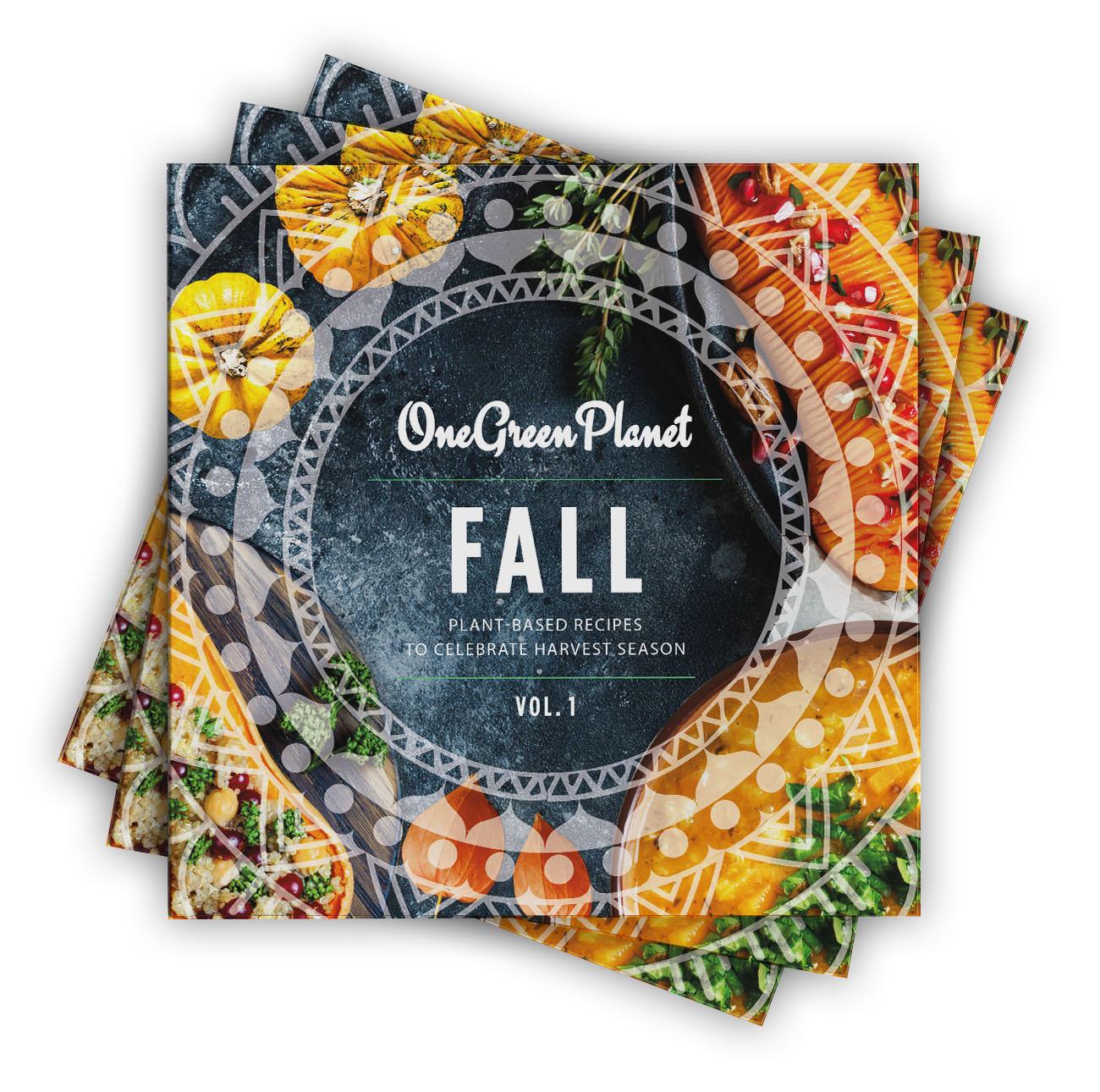 one green planet best vegan plant-based fall cookbook