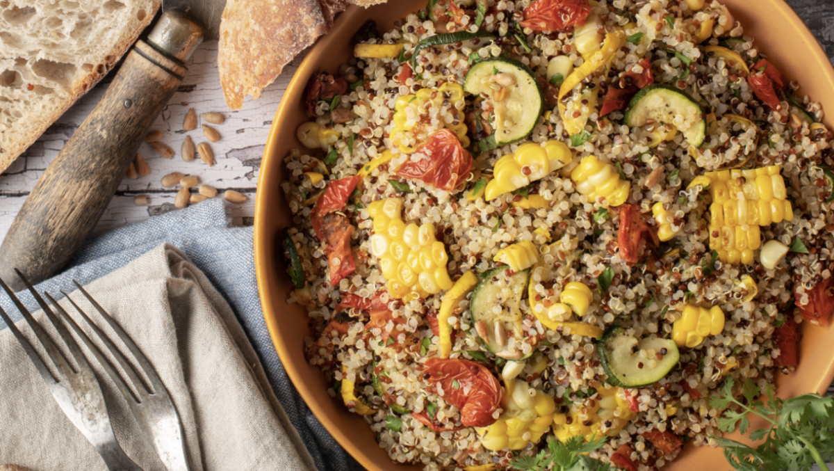 Quinoa With Summer Vegetables