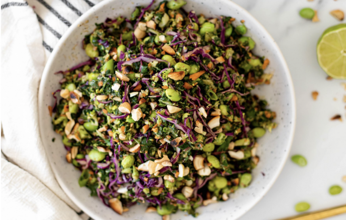 Easy and Crunchy Thai Salad [Vegan]