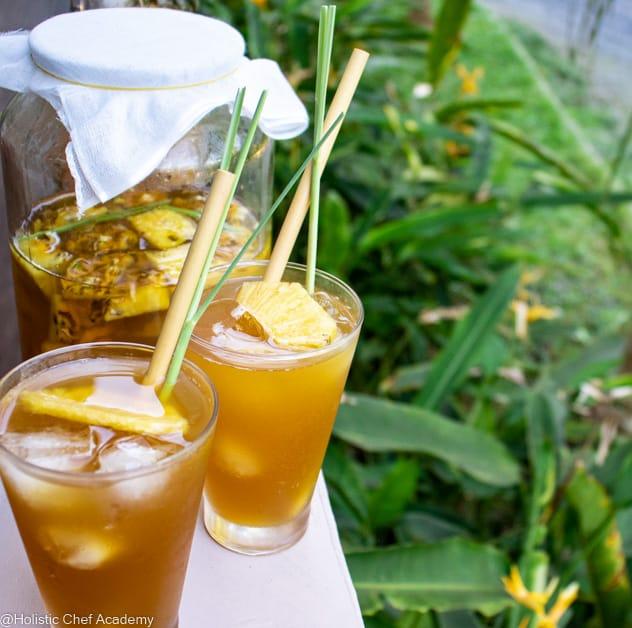 Vegan Pineapple Tepache