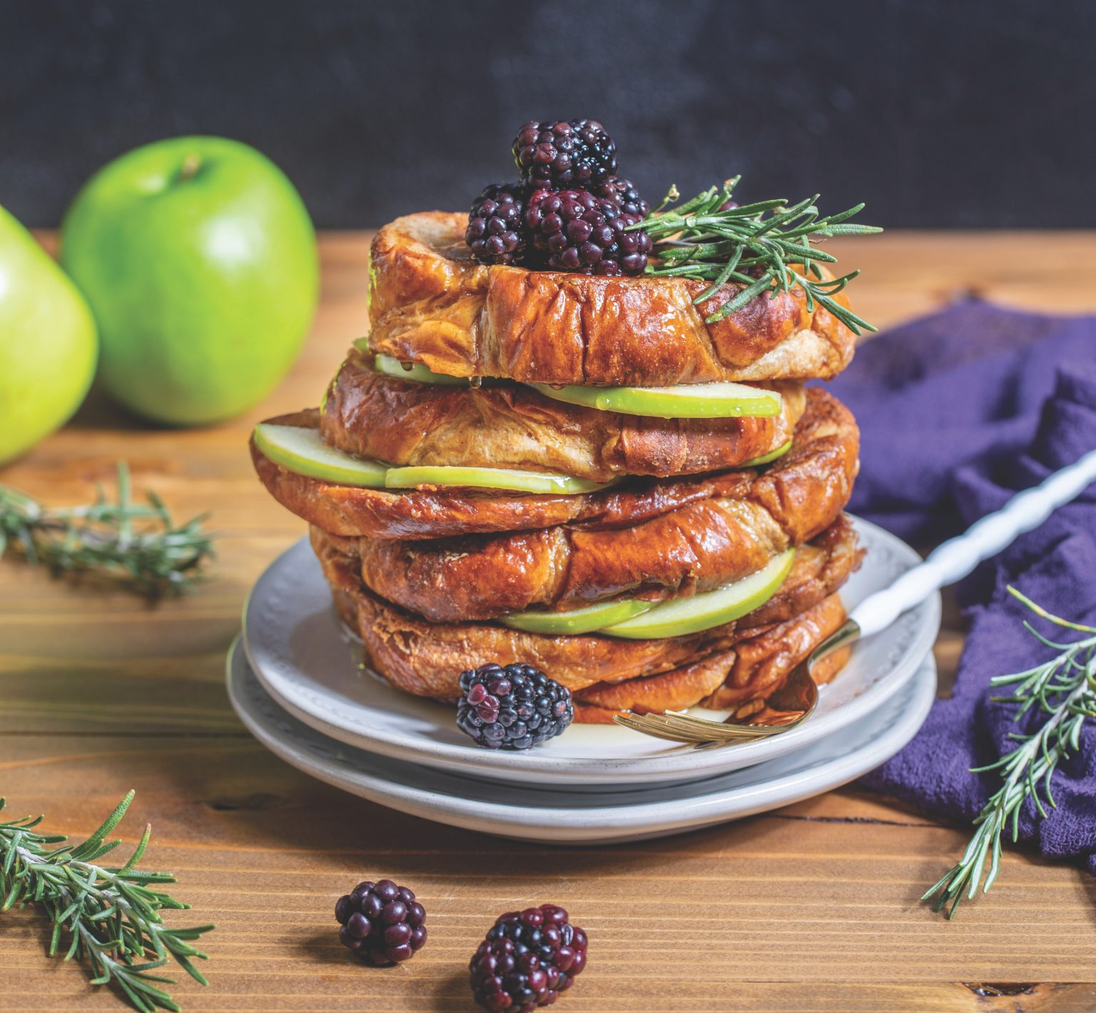 From Apple Blackberry Brioche French Toast to Chatpata Aloo Salad: Our Top Eight Vegan Recipes of the Day!